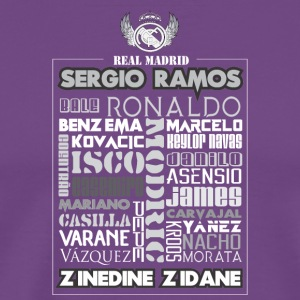 Real Madrid Design - Men's Premium T-Shirt