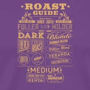 Roast guide - Men's Premium T-Shirt