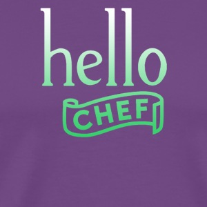 Hello chef - Men's Premium T-Shirt