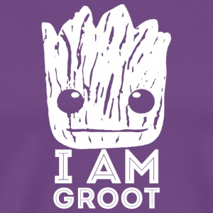 Guardians Of The Galaxy Groot - Men's Premium T-Shirt