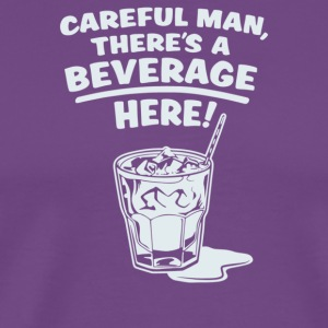 Careful Beverage - Men's Premium T-Shirt