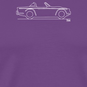 Original sketch Triumph TR4a Surrey top - Men's Premium T-Shirt