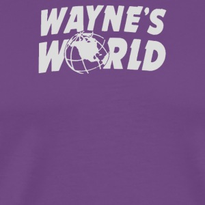 Wayne s World - Men's Premium T-Shirt