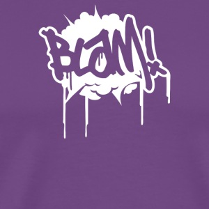 Blam Comic Book Cartoon Explosion - Men's Premium T-Shirt