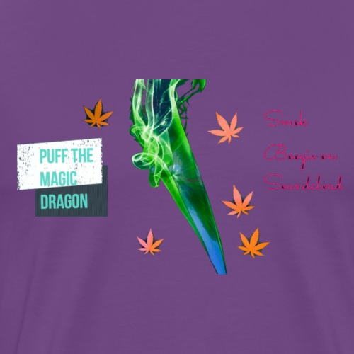 Smok Boogie (Puff The Magic Dragon) - Men's Premium T-Shirt