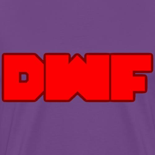 DeWarioFreak (DWF) Logo - Men's Premium T-Shirt