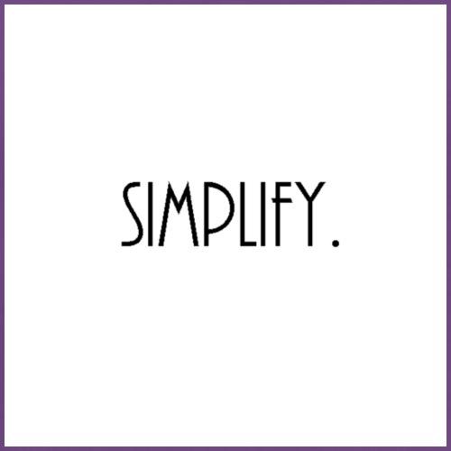 simplify. - Men's Premium T-Shirt