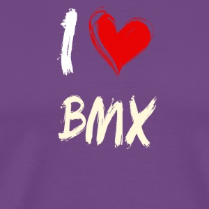 I love BMX - Men's Premium T-Shirt