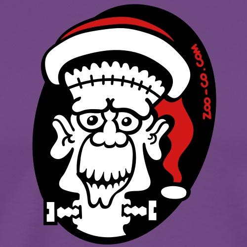 Christmas Frankenstein - Men's Premium T-Shirt