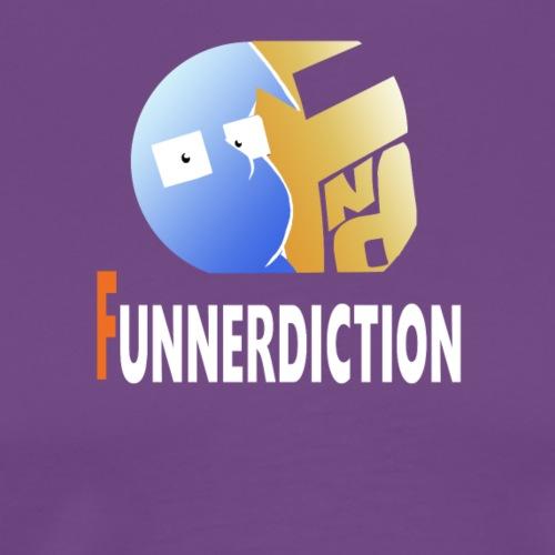Funnerdiction Shirt Logo - Men's Premium T-Shirt
