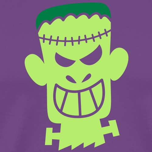 Naughty Halloween Frankenstein - Men's Premium T-Shirt