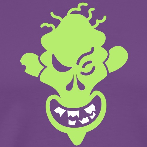 Naughty Halloween Zombie - Men's Premium T-Shirt