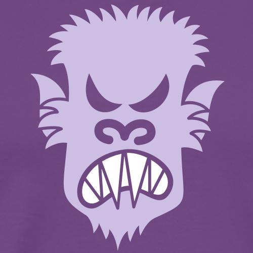 Angry Halloween Werewolf - Men's Premium T-Shirt