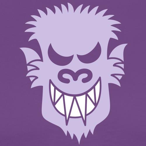 Naughty Halloween Werewolf - Men's Premium T-Shirt