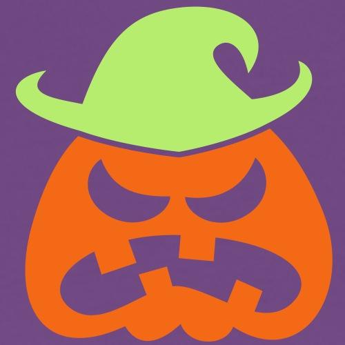 Angry Halloween Scarecrow - Men's Premium T-Shirt
