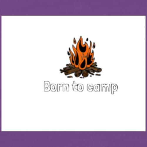 Born to camp - Men's Premium T-Shirt