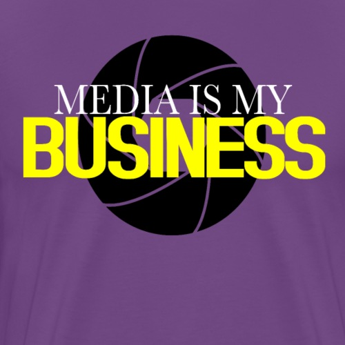 Media Is My Business - Men's Premium T-Shirt