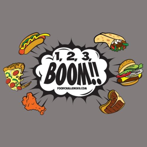 123_BOOM_FINAL Spreadshir - Men's Premium T-Shirt