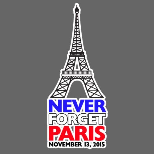 Never Forget Paris - Men's Premium T-Shirt