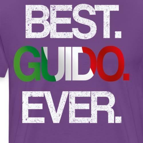 BEST GUIDO EVERProud Italalian Team Italian USAFam - Men's Premium T-Shirt