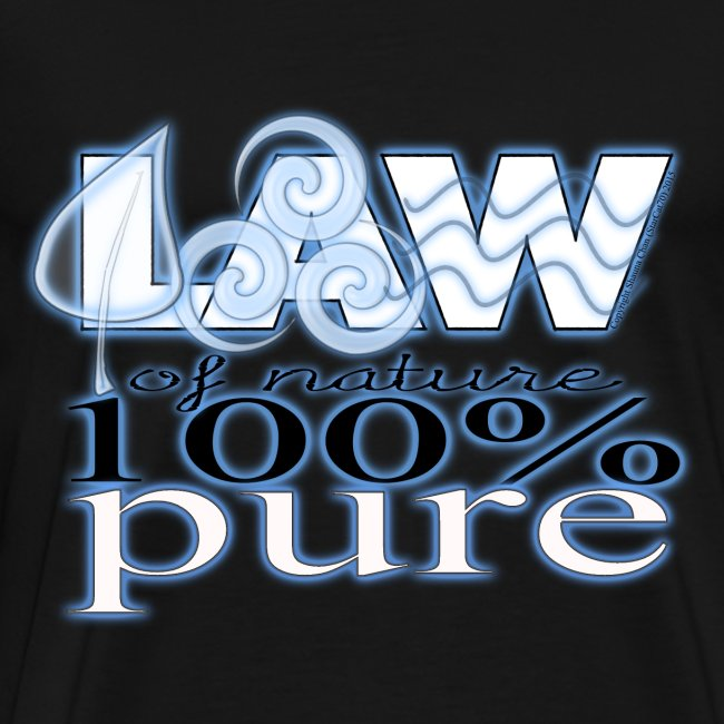 LAW of Nature (blue glow)