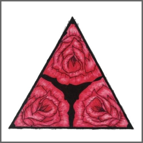 Rose Triad - Men's Premium T-Shirt
