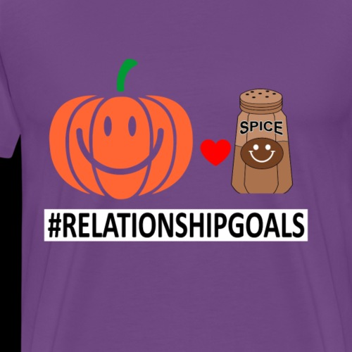 Relationship Goals | Caffeinated Love - Men's Premium T-Shirt