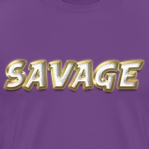 Savage Bling - Men's Premium T-Shirt