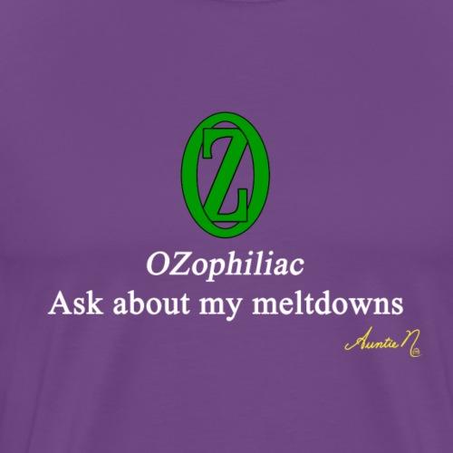 0134w OZophiliac - Men's Premium T-Shirt