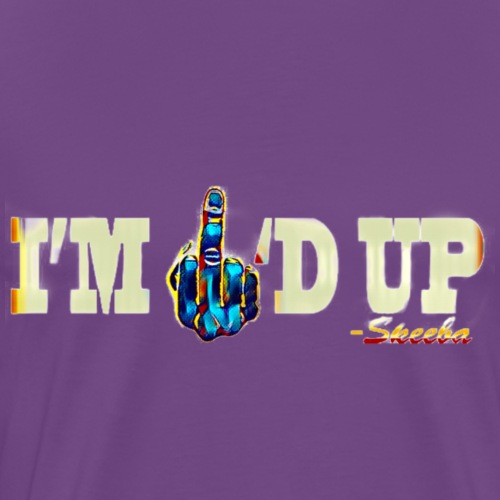 Skeeba I'm F'd Up Design 2 - Men's Premium T-Shirt