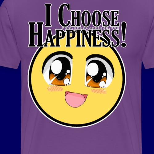 I choose happiness - A Course in Miracles - Men's Premium T-Shirt