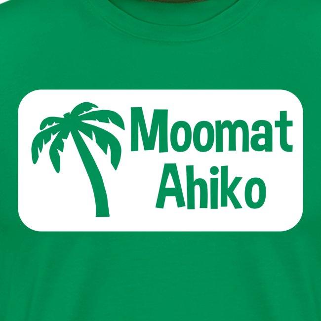Moomat Ahiko retro white
