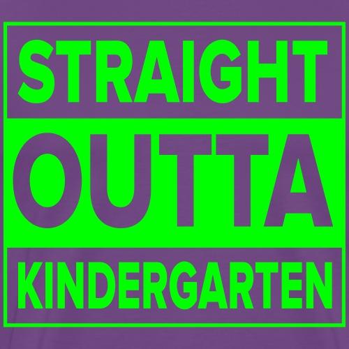 Kreative In Kinder Straight Outta - Men's Premium T-Shirt