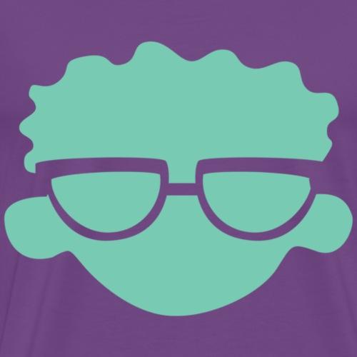 Carl Logo for Purple Shirt - Men's Premium T-Shirt