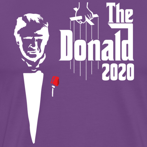 The Donald 2020 Godfather - Men's Premium T-Shirt