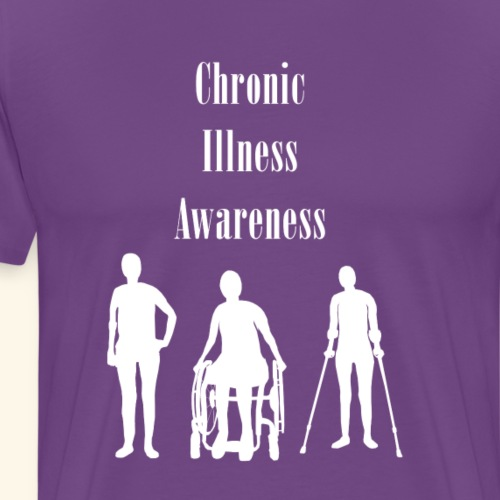Chronic Illness Awareness - Men's Premium T-Shirt