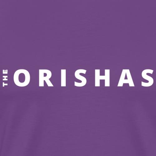 The Orishas (White Letters) - Men's Premium T-Shirt