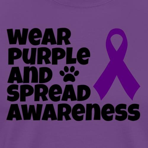 Wear Purple And Spread Awareness - Men's Premium T-Shirt