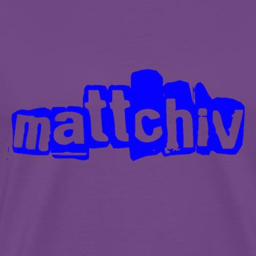 mattchiv - Men's Premium T-Shirt