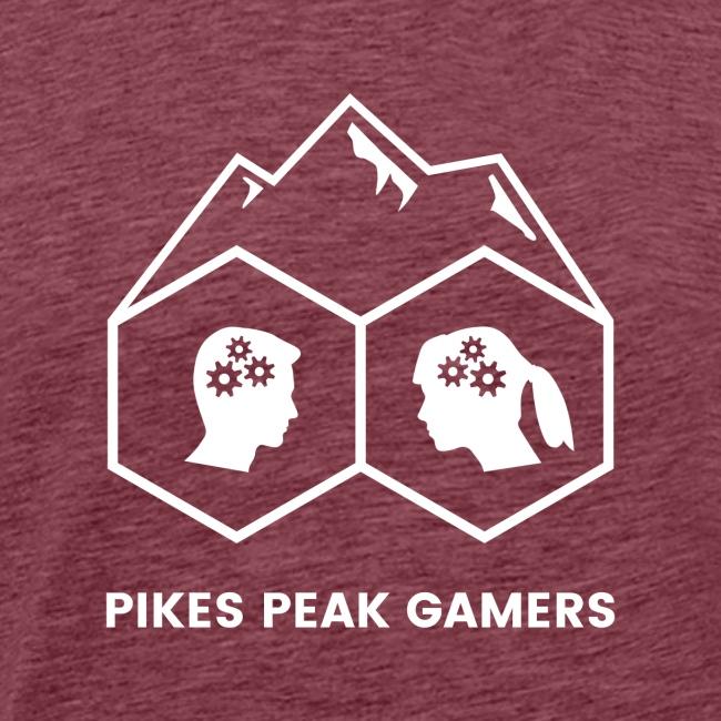 Pikes Peak Gamers Logo (Transparent White)