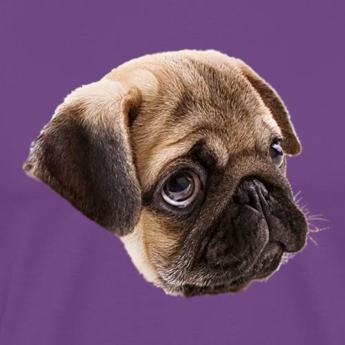 Puppy #01 Pug Life - Men's Premium T-Shirt