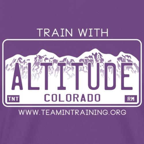 Train With Altitude - Men's Premium T-Shirt