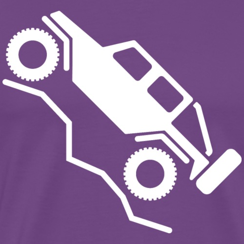 Offroad 4wd Rock Crawling Logo - Men's Premium T-Shirt