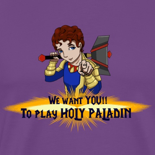 Jamie the Holy Paladin - Men's Premium T-Shirt