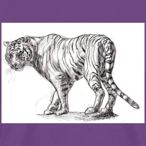 Stalking Tiger - Men's Premium T-Shirt