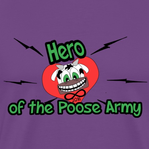 Hero Cow - Men's Premium T-Shirt