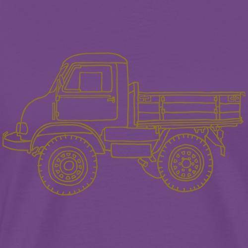 Off-road truck, transporter - Men's Premium T-Shirt