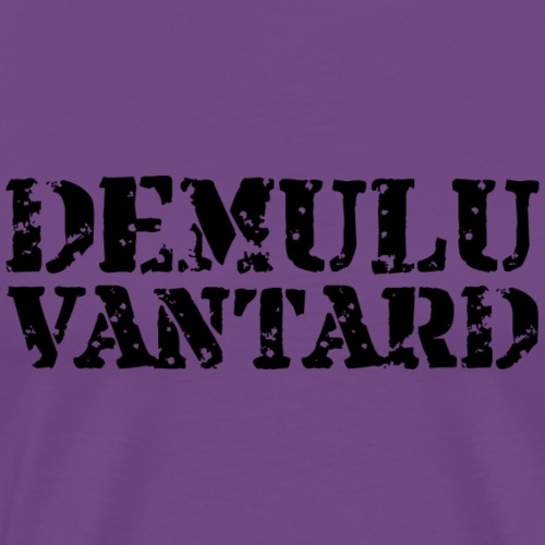 Demulu Vantard Text (black) - Men's Premium T-Shirt