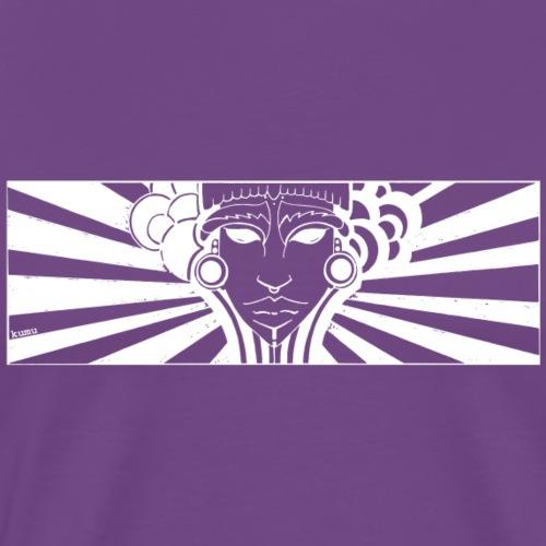 maya face - Men's Premium T-Shirt