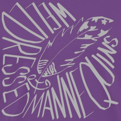 OG Album Art Hood - Men's Premium T-Shirt